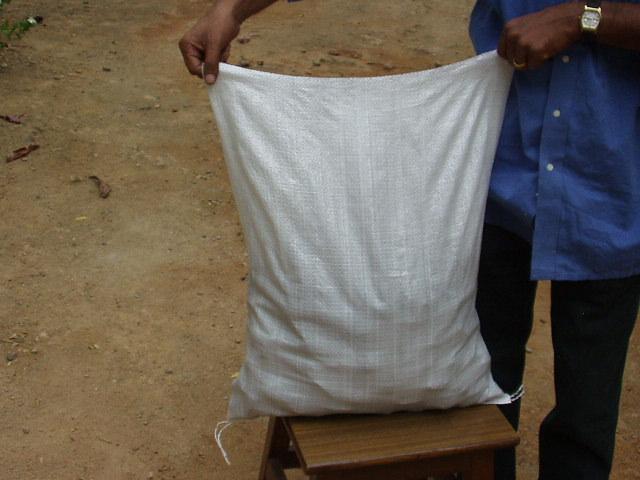 Coconut Charcoal Briquette in bag