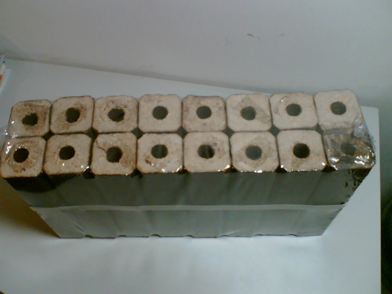 Sqaure Coconut Briquette