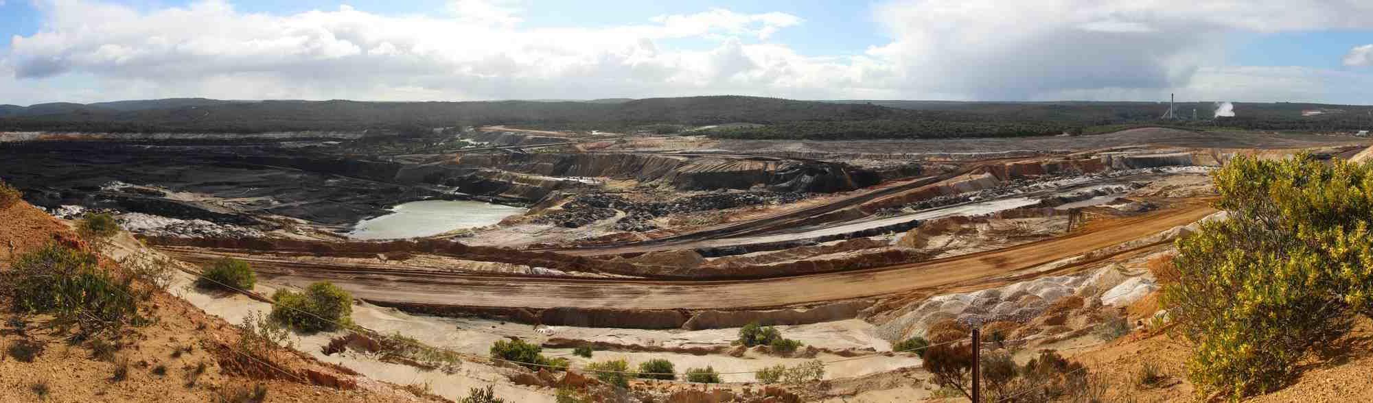 Open coalmine